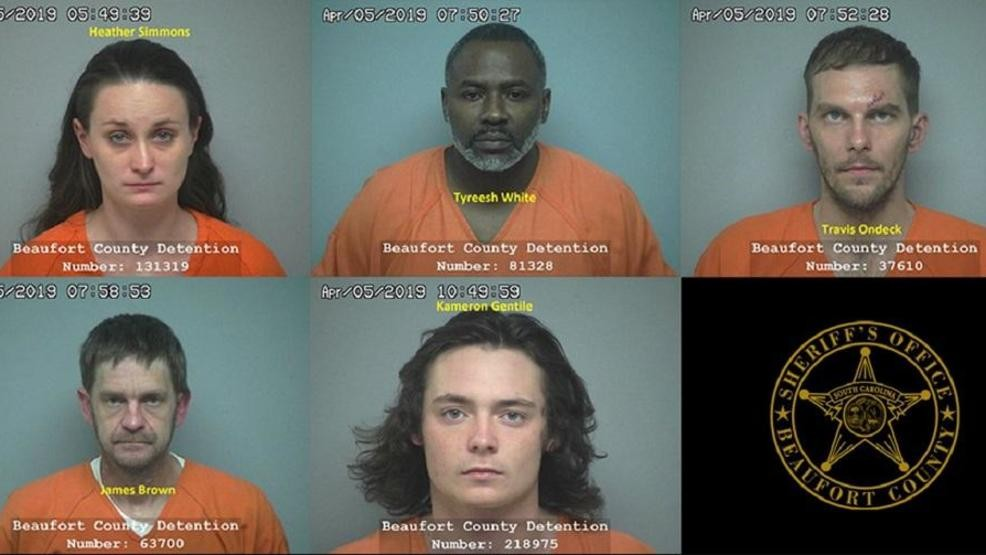 BUST: 5 arrested for heroin, other drug charges | WTGS
