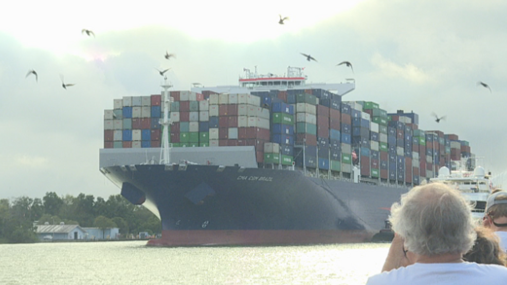 Ports Welcome Largest Container Ship