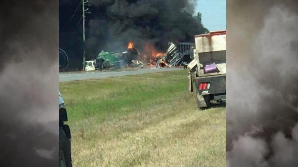 Fatalities reported in fiery crash on Hwy 341 | WTGS